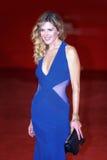Elisabetta Pellini walks a red carpet Stock Images