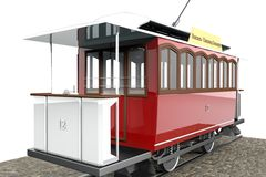 Elisavetgrad tram Stock Image