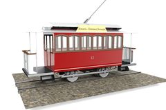 Elisavetgrad tram Royalty Free Stock Image