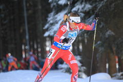 Elise Ringen - biathlon Images stock