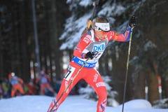 Elise Ringen - biathlon Stock Images