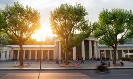 Elisenbrunnen Aachen Arkivfoton