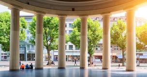 Elisenbrunnen Aix-la-Chapelle Foto de Stock