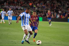 Eliseu - Malaga CF Stock Photography