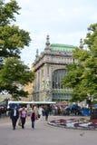 Eliseyev Emporium in Nevsky Prospekt. Royalty Free Stock Photography