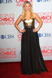 Elisha Cuthbert. At the 2012 People's Choice Awards Press Room, Nokia Theatre. Los Angeles, CA 01-11-12 Stock Photos