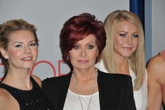 Elisha Cuthbert, Julianne Hough, Sharon Osbourne, Stock Photo