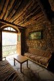 elishaa内部修道院圣徒 库存照片