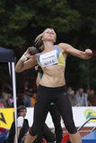 Eliska Klucinova at IAAF heptathlon meeting Royalty Free Stock Photo