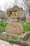 ELISTA RYSSLAND ` För melodi för gataskulptur`, Kalmykia Arkivbild