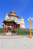 Elista Złoty dom Buddha Shakyamuni zdjęcie royalty free