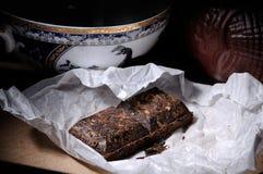 Elita Chińska czarna herbata fotografia stock