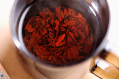 Elita Chińska czarna herbata obraz stock