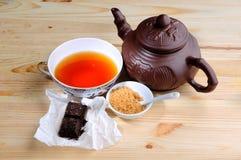 Elita Chińska czarna herbata obrazy stock