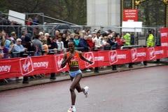 elita London maratonu kobiety obraz stock