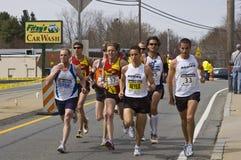elita mężczyzna biegacze Zdjęcia Stock