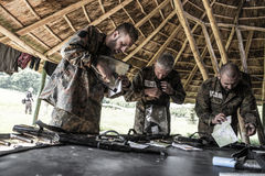 Elite Challenge - military training, competitions civilians. Hungary, Orfu - May 3-8: Elite Challenge is a program designed both for civilians and professionals Stock Image