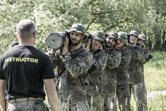 Elite Challenge - military training, competitions civilians Stock Image