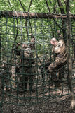 Elite Challenge - military training, competitions civilians. Hungary, Orfu - May 3-8: Elite Challenge is a program designed both for civilians and professionals Royalty Free Stock Images