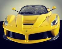 Elite de Hotwheels do 1:18 de Ferrari LaFerrari modelcar fotografia de stock