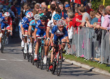 Elite riders road race Royalty Free Stock Photos