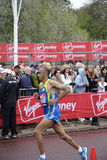 Elite runner in london 2010 marathon Royalty Free Stock Image