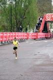 Elite runner in london 2010 marathon stock photos