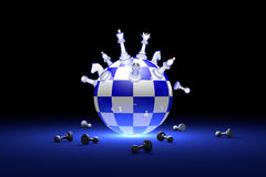 Elite Society (chess metaphor). 3D render illustration. Free spa stock photos