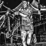 Elite Women - Cross Vegas Cyclocross Royalty Free Stock Photo