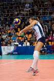 Elitsa Vasileva (18) na ação Foto de Stock