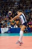 Elitsa Vasileva (18) nell'azione Fotografia Stock