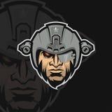 Elity wojska e sporta logo royalty ilustracja