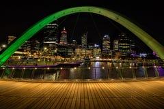 Elixabeth Quay a Perth WA Immagine Stock