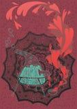 Elixir amoroso stock de ilustración