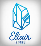 Elixir stone Stock Photography