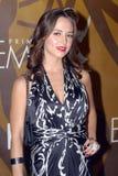 Eliza Dushku on the red carpet. Royalty Free Stock Photo