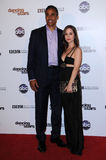 Eliza Dushku,Rick Fox Royalty Free Stock Photo