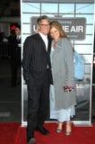 Eliza Roberts Eric Roberts royaltyfri bild
