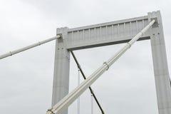 Elizabet bro på Budapest, Ungern Royaltyfria Foton