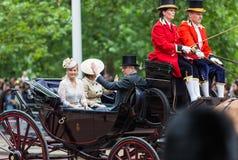 Elizabeth ΙΙ βασίλισσα Στοκ Εικόνα