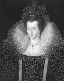 Elizabeth ι Στοκ Εικόνες