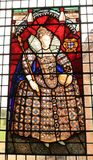 Elizabeth λεκίασα το παράθυρο γυαλιού στοκ εικόνες με δικαίωμα ελεύθερης χρήσης