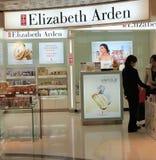 Elizabeth arden shoppar i Hong Kong Royaltyfria Bilder