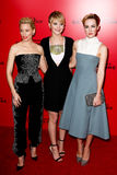 Elizabeth Banks, Jennifer Lawrence, Jena Malone Royalty Free Stock Photos