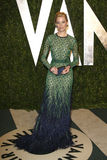 Elizabeth Banks, Vanity Fair. LOS ANGELES - FEB 26: Elizabeth Banks arrives at the 2012 Vanity Fair Oscar Party at the Sunset Tower on February 26, 2012 in West stock illustration