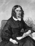 Elizabeth Barrett Browning Stock Image