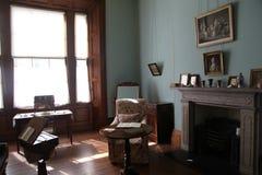 Elizabeth Bay House - brandställe Arkivbild