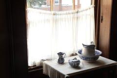 Elizabeth Bay House - par la fenêtre Images stock