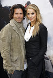 Elizabeth Berkley en Greg Lauren Stock Foto's