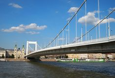 Elizabeth Bridge Royalty Free Stock Image